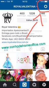 mais de uma conta do instagram