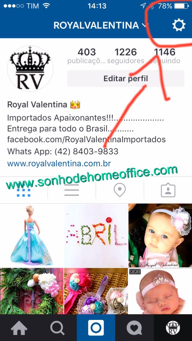 ter mais de uma conta do instagram